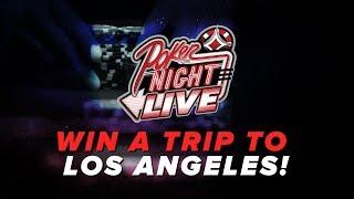 Win A Seat On POKER NIGHT LIVE!