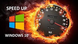 (2018) Ускоряем Windows 10 и убираем 100% загруженность диска