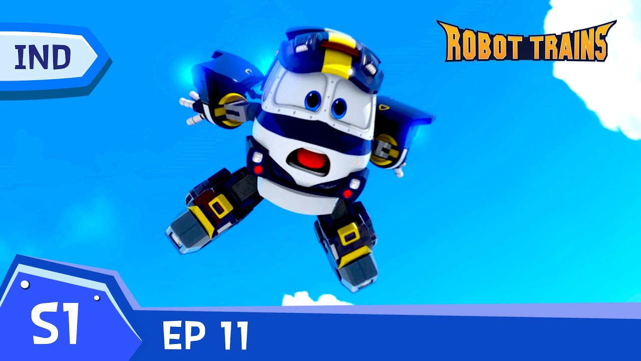 Robot Trains | #11 |  Pelatihan Khusus Selly | Episode penuh | Bahasa Indonesia | animasi untuk anak