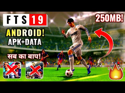 [250MB] FTS 19 Mobile Download Android OFFLINE | Full HD 4K Graphic | Hindi