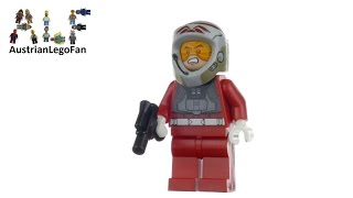 Lego Star Wars 5004408 Rebel A-Wing Pilot Exclusive Minifigure - Lego Speed Build Review