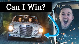 Can I WIN My First Competitive Rally In The Retro Mercedes?