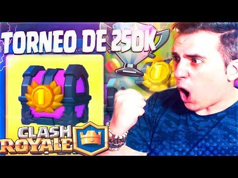 NOS LA JUGAMOS!! TORNEO de 250,000 GEMAS en DIRECTO | Clash Royale | Rubinho vlc