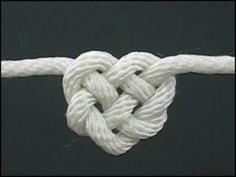 Кельтский узел в виде сердечка