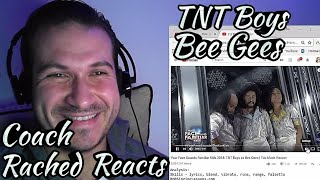 Vocal Coach Reaction + Analysis - TNT Boys as Bee Gees