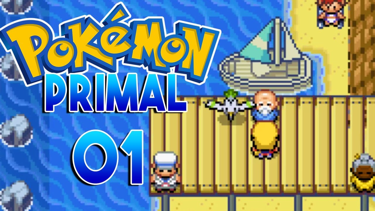 pokemon primal part 1 new island pokemon fan game gameplay