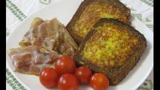 Утренние бутерброды с яйцом и сыром
