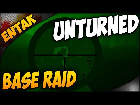 Unturned Gameplay ➤ Military Base Raid & Base Building - Ep. 5