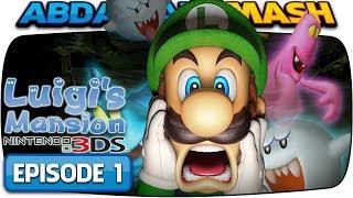 Luigi's Mansion 3DS - 100% Walkthrough |  Episode 1 - Chauncey (Area 1)