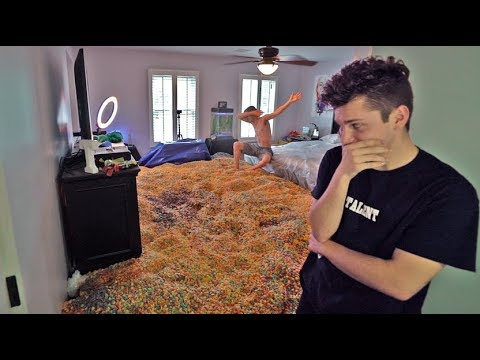 Thumbnail: ENTIRE ROOM FULL OF CEREAL PRANK!