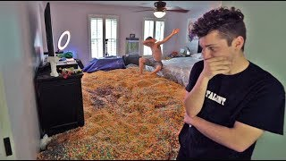 ENTIRE ROOM FULL OF CEREAL PRANK!