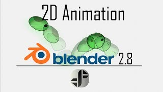 How to do 2D animation | Blender 2.8 Tutorial
