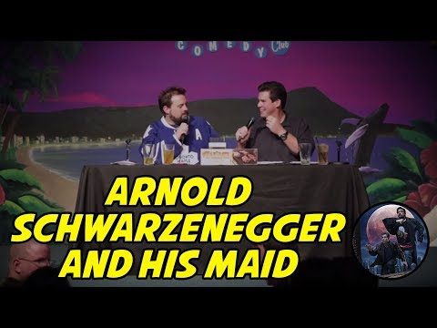 Classic-Babble: Arnold Schwarzenegger and His Maid
