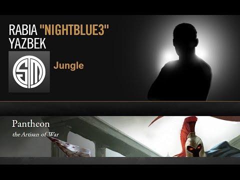 Nightblue - Pantheon vs Warwick - jungle - Season 4 (+ Build Guide)