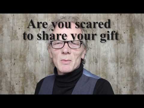Stop running away from sharing your gift