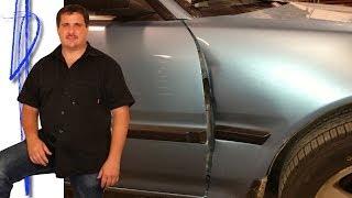 car hood repair