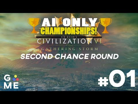 AI ONLY Championship - Second Chance Round | Civilization 6: Gathering Storm | Episode #1