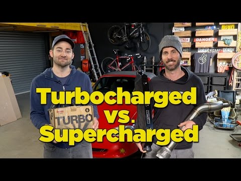 Turbocharged vs. Supercharged - Part 1