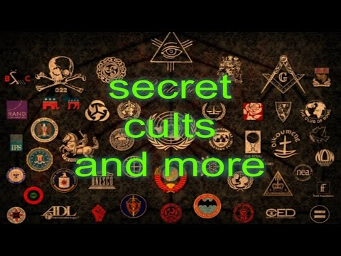 Cults, Conspiracy theories, Secret Societies, and more.