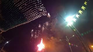 Acendimento da Fogueira - Festa Sto Antônio - Mesquita - MG -17-06-18