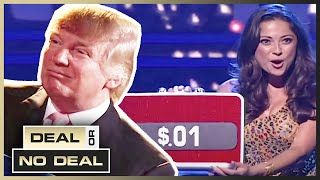 TRUMP Guest Appearance! 🇺🇸 | Deal or No Deal US | Season 3 Episode 1 | Full Episodes