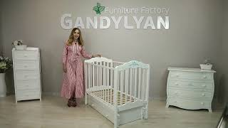 видео Детская комната -  детская мебель Фея со стразами SWAROVSKI (Адвеста) Advesta