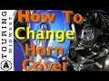 How to swap horn cover on Harley Davidson Road Glide Ultra