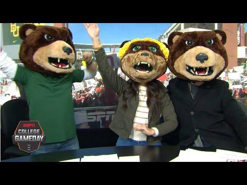 Lee Corso's headgear pick for Oklahoma vs. Baylor with Chip and Joanna Gaines | College GameDay