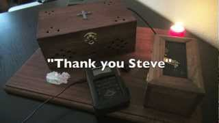 spirit box and evp sessions can you give me a hand my best ever session