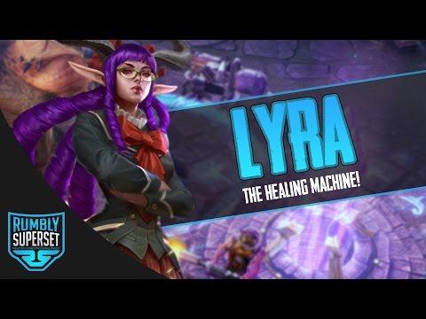 Vainglory Gameplay - Episode 300: THE HEALING MACHINE! Lyra |Support| Captain Gameplay [Update 2.2]