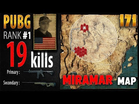 PUBG Rank 1 - Gorb 19 kills [Test SV] SOLO TPP - PLAYERUNKNOWN'S BATTLEGROUNDS #171
