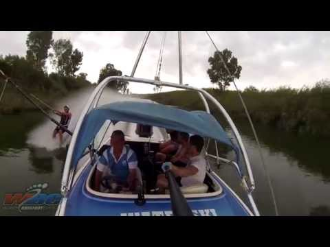 South Africa Barefoot Waterskiing Clinic 2015