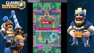 THE END OF THE GROUP STAGE.  |  Clash Royale tournament |    ☆ CRT