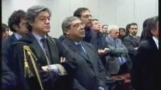 CUFFARO ( UDC ) condannato, CASINI ( UDC ) balbetta, FALCONE... tristemente sorride.