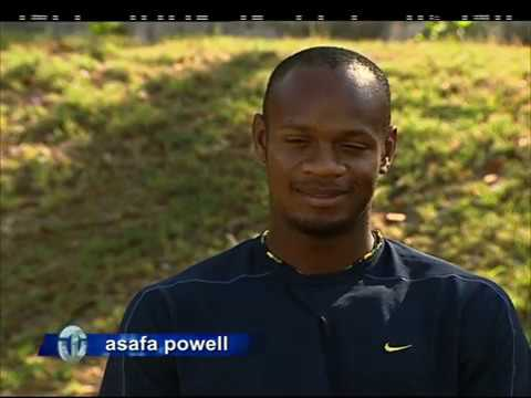 Asafa Powell | Jamaican Sprint Star | Trans World Sport (2006)