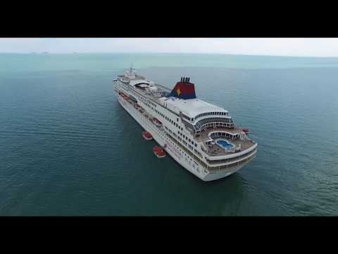 Star Cruises At Melaka Strait