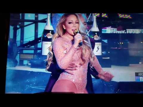 Mariah Carey New Years Eve 2017 😂
