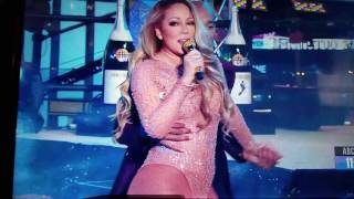 Mariah Carey New Years Eve 2017 😂