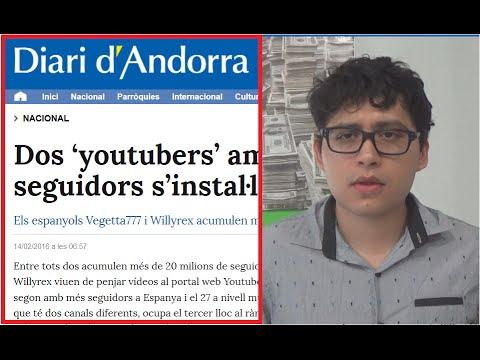 VEGETTA777 Y WILLYREX EVADEN IMPUESTOS EN ANDORRA - VIVEN EN UN PARAÍSO FISCAL LOS DOS YOUTUBERS