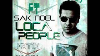 Sak noel ft DJ david loca people (remix 2011).wmv