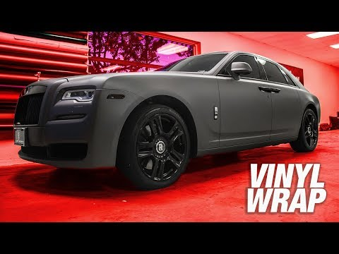 Doing Donuts in $200,000 Car - VINYL WRAPPED