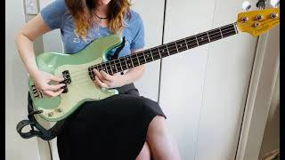 Fender American Professional II P bass demo
