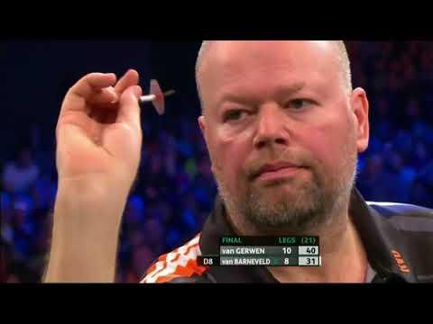 Raymond van Barneveld vs Michael van Gerwen. Unibet Darts Masters 2018. Part 4