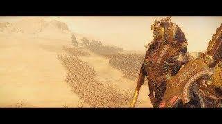 Battle of the Pyramids | Tomb Kings vs Humans\Dwarfs | Warhammer 2 Total War cinematic