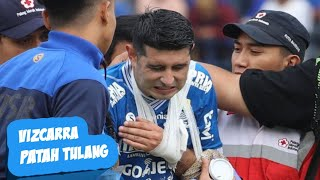 Download Video Vizcarra Cedera Tangan apakah viscara patah tulang? | Persib vs Arema Fc MP3 3GP MP4