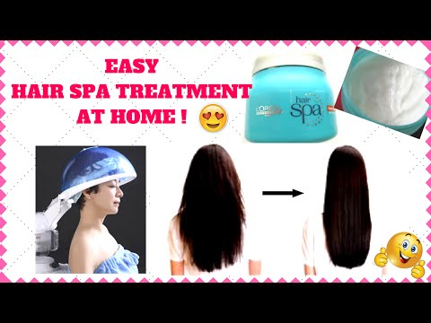 Hair Spa Treatment at Home. Easy Steps. DIY.I Simi Bella