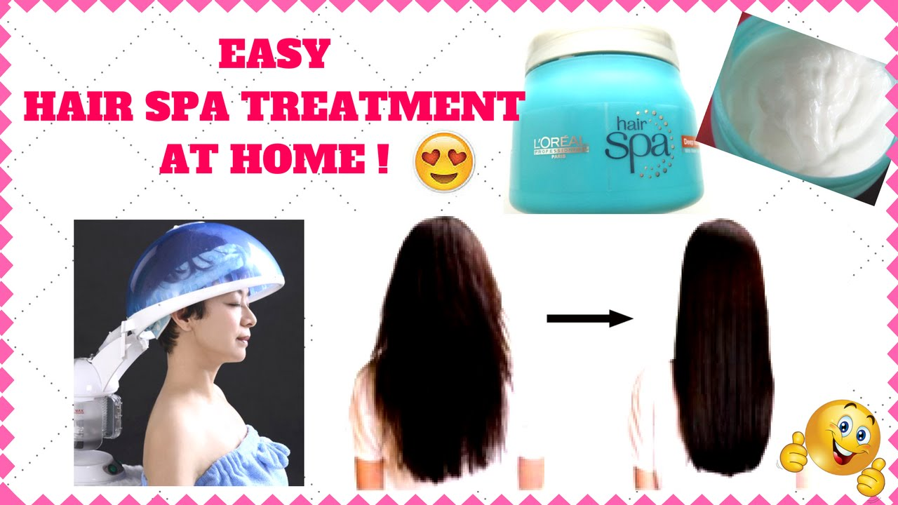Hair spa treatment at home easy steps diy i simi bella for How to make a beauty salon at home