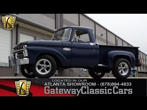 1966 Ford F100 - Gateway Classic Cars Of Atlanta #119