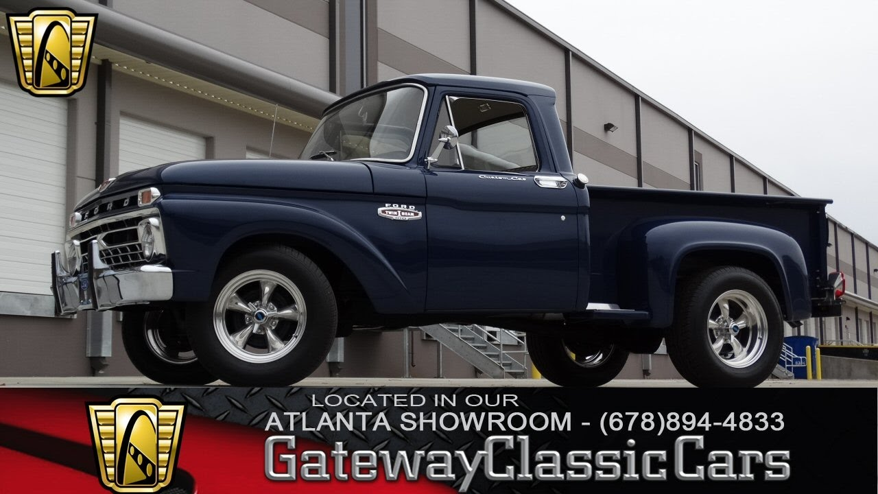 1966 ford f100 gateway classic cars of atlanta 119 [ 1280 x 720 Pixel ]