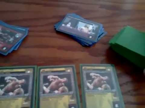 WWE Raw Deal Card Game Tutorial Part 5 - What is Needed